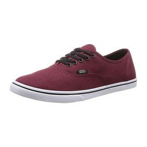 Vans Lo Pro Tawny Port/True White 5.5 Men's/7Wmn's